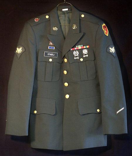 Used, U.S. Army Dress Green Coat - Military Gear HQ