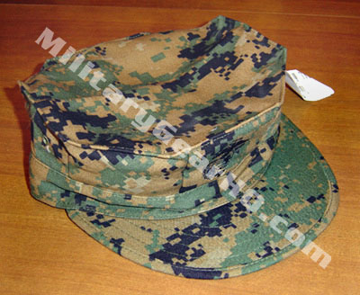 Item # 1061 - Official USMC Issue Woodland MARPAT Garrision Cover