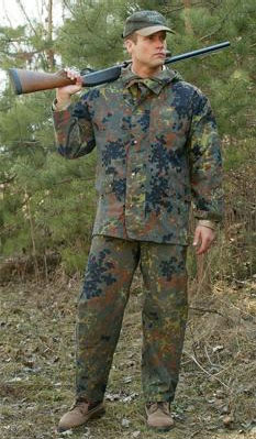 Official German Military Issue Flectarn Camouflage Gore-Tex Waterproof Trousers