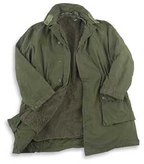 Swedish Military Olive Drab Parka with Liner
