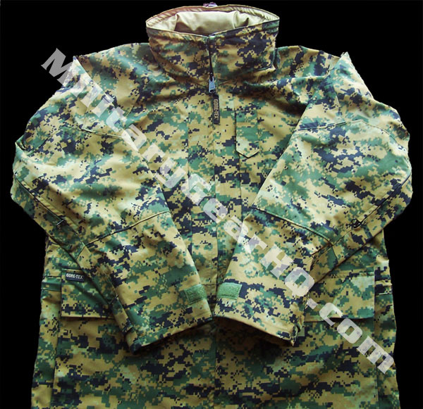 Official USMC Issue Woodland MARPAT APEC Gore-Tex Parka