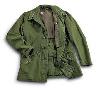 Official Swedish Military Olive Green M59 Field Jacket